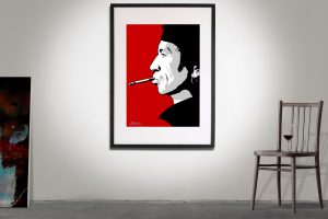 Keith Richards poster affisch